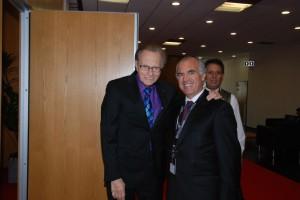 Larry King e Francisco Banha