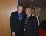 Larry King e Francisco Banha