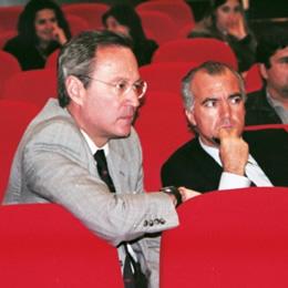 Ricardo Câmara e Sousa (esq.) e Francisco Banha