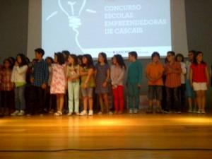 Alunos do 4º Ano da Escola Amoreira 2 - Programa Escolas Empreendedoras de Cascais