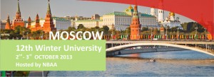12th Winter University Moscow