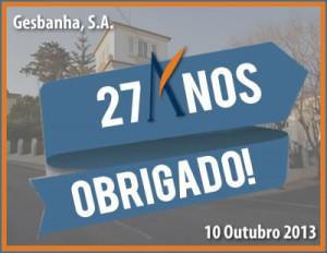 Gesbanha, S.A. - 27 anos