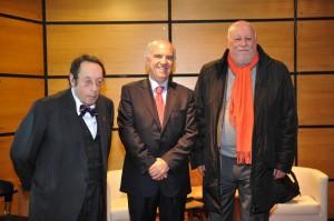 Jack Lang, Francisco Banha e Dominique Fache