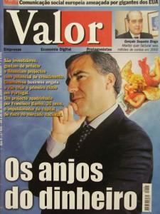 """Valor magazine - """"Os anjos do dinheiro"""""""