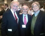 Me with Former Senator Don Riegle and David S.Rose, CEO of Gust and Founder of New York Angels.