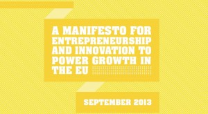 A Manifesto for Entrepreneurship and Innovation to Power Growth in the EU