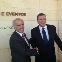 Francisco Banha e José Manuel Durão Barroso