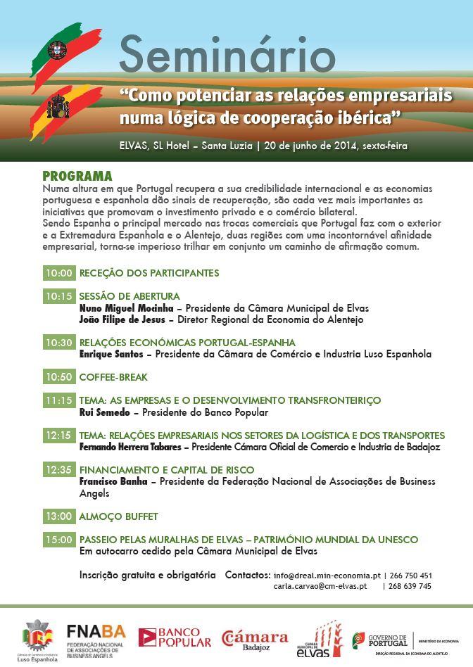 Programa Seminário Ibérico Junho 2014