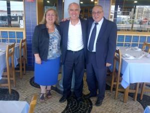 Margarida Ramalho, Francisco Banha e António Mourato