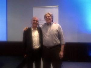 Me and David Rose