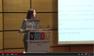 Intervenção de Lara Martinho no XIV Venture Capital IT