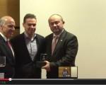 Prémio Autarca Empreendedor 2014 do XIV Venture Capital IT atribuído a Carlos Filipe Camelo da Câmara Municipal de Seia.