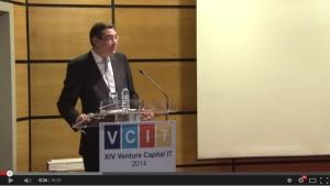 Intervenção de Miguel Geraldes no XIV Venture Capital IT
