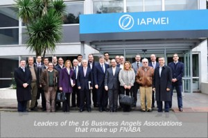 Leaders of the 16 Business Angels Associations that make up FNABA
