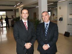 Com Paulo Rosado, CEO da Outsystems em Maio de 2004