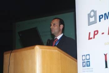 Paulo Rosado, CEO da Outsystems durante o IV VCIT