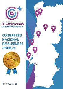 Mapa da 10ª Semana Nacional de Business Angels