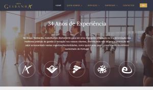 Site Grupo Gesbanha