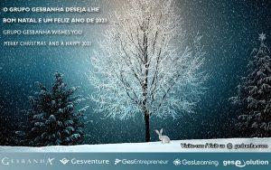 Postal de Natal do Grupo Gesbanha