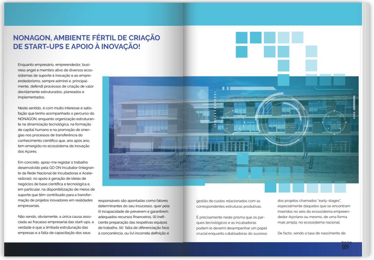Nonagon, ambiente fértil de criação de Start-Ups e apoio à inovação!