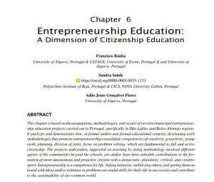 Empreendedorismo e Cidadania