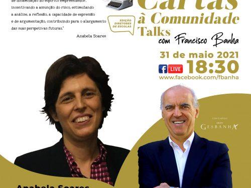 Talks Cartas à Comunidade - Anabela Soares