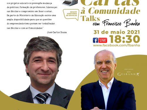 Talks Cartas à Comunidade - José Carlos Sousa