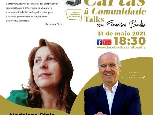 Talks Cartas à Comunidade - Madalena Dinis