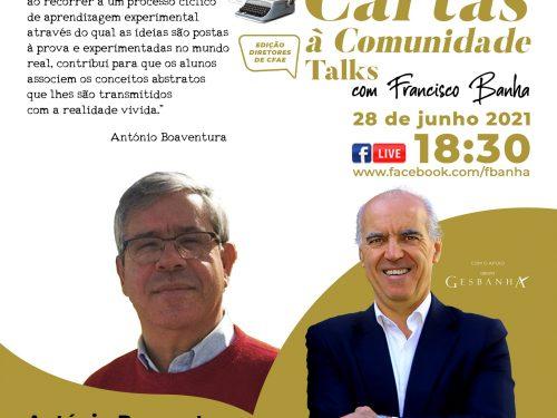 Talks Cartas à Comunidade - António Boaventura