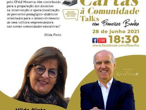Talks Cartas à Comunidade - Hilda Pinto