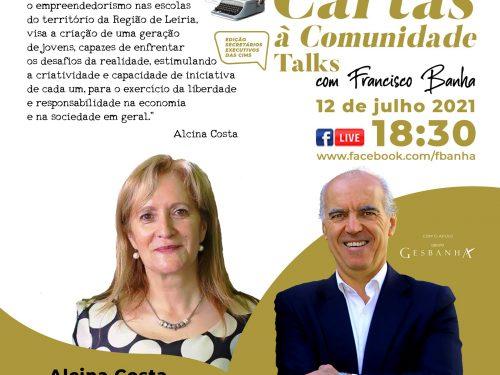 Talks Cartas à Comunidade - Alcina Costa