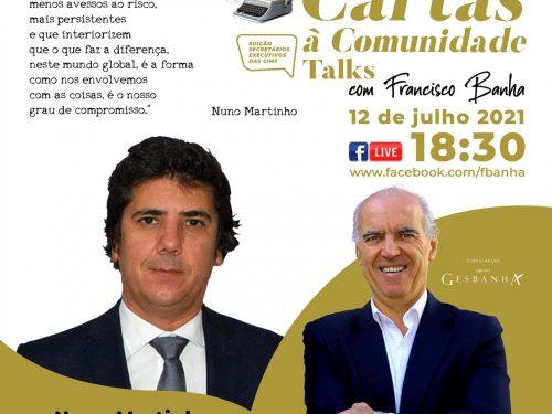 Talks Cartas à Comunidade - Nuno Martinho