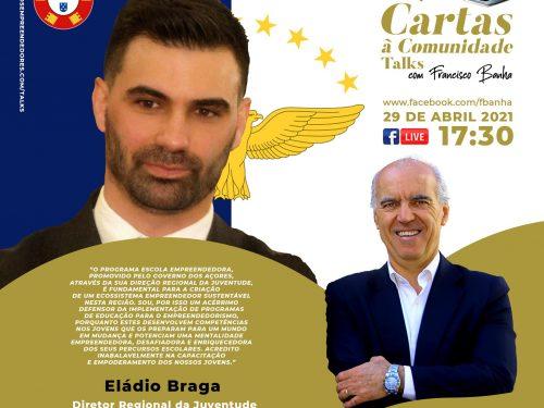 Talks Cartas à Comunidade - Eládio Braga