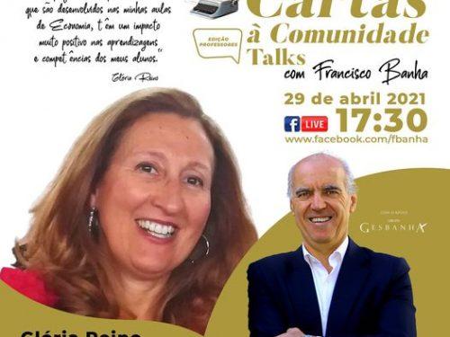 Talks Cartas à Comunidade - Glória Reino