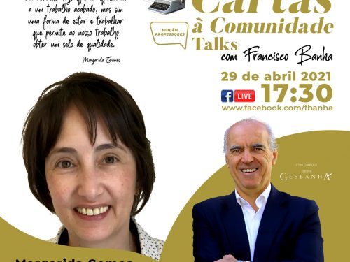 Talks Cartas à Comunidade - Margarida Gomes